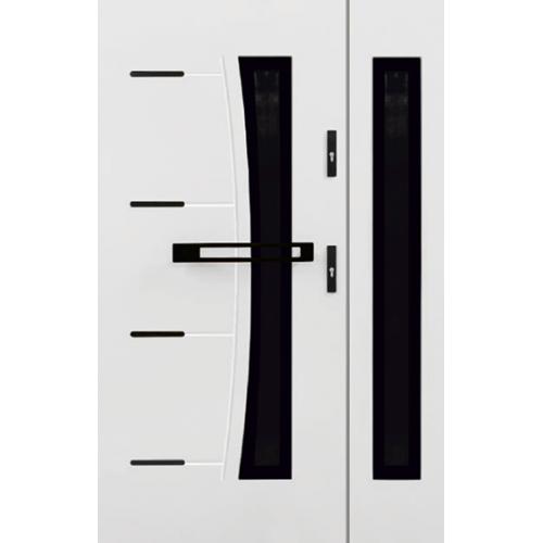 KMT Dwuskrzydłowe drzwi stalowe