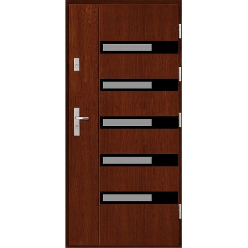 Drzwi zewnętrzne Crispa drewniane Agmar