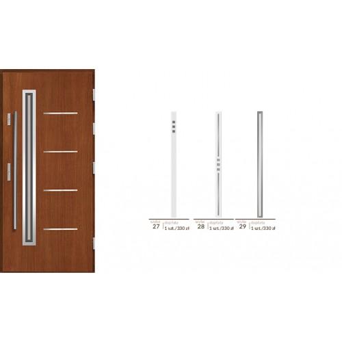 Draco drzwi zewnętrzne drewniane Agmar