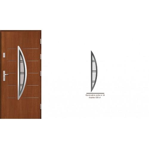 Drzwi zewnętrzne drewniane  Agmar-Kronos