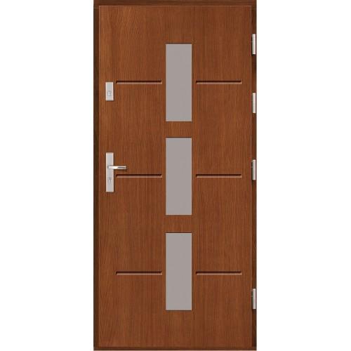 Drzwi zewnętrzne  drewniane Agmar-Aktus