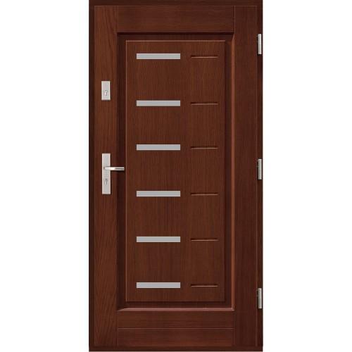 Drzwi zewnętrzne drewniane  ramowe Agmar-Avila